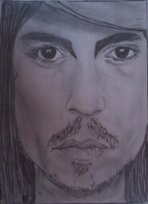 Johnny Depp par Marihy